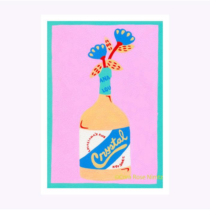 Cora Rose Nimtz Pink Crystal Print