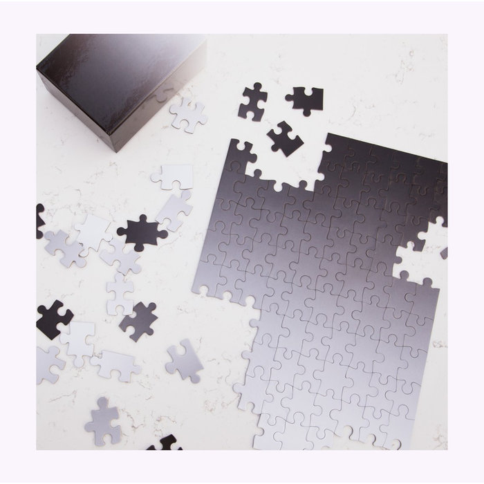 Areaware Gradient Puzzle Black/White