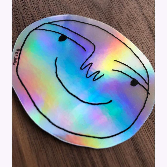 Julia GR Julia GR Happy Holo Sticker