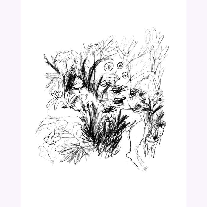 Julia GR Julia GR Blooming Print