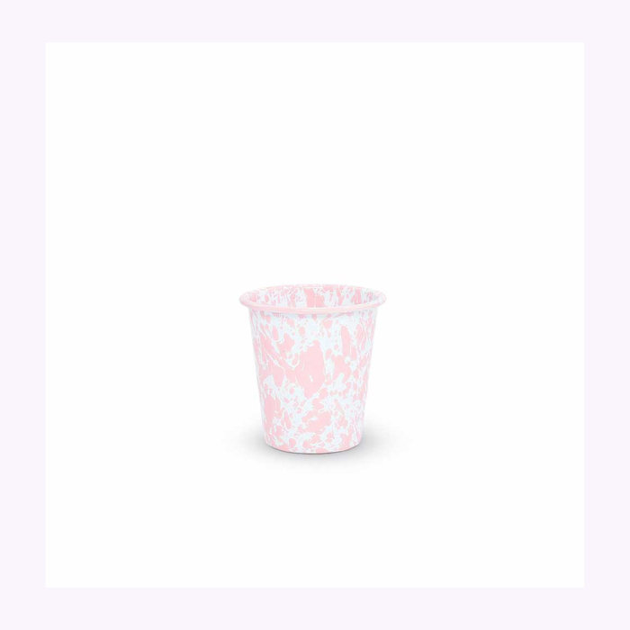 Crow Canyon Crow Canyon Small Pink Splattered Tumbler