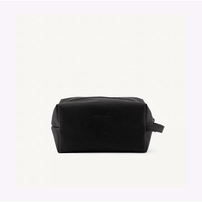Monk & Anna Black Toiletry Bag