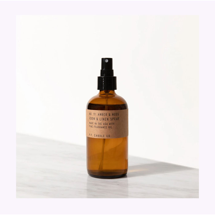 Pf Candle Co. Amber & Moss Room Spray
