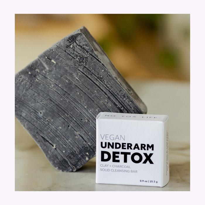 NO TOX LIFE Savon detox pour aisselles au charbon No Tox Life