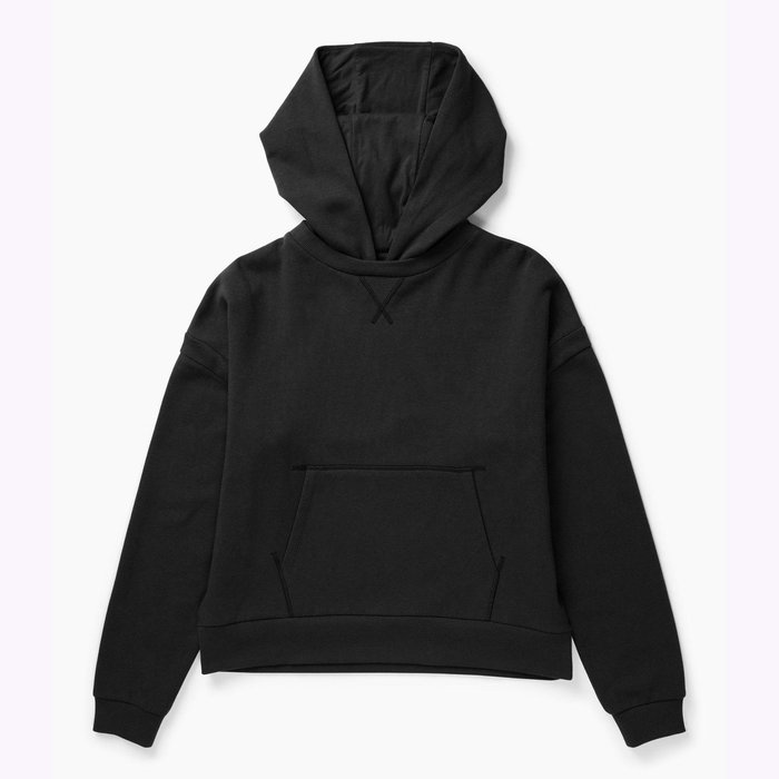 Richer Poorer Richer Poorer Recycled Flannel Black Hoodie