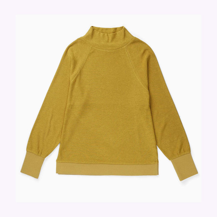 Richer Poorer Richer Poorer Long Sleeve Golden Verde Knitted Sweater