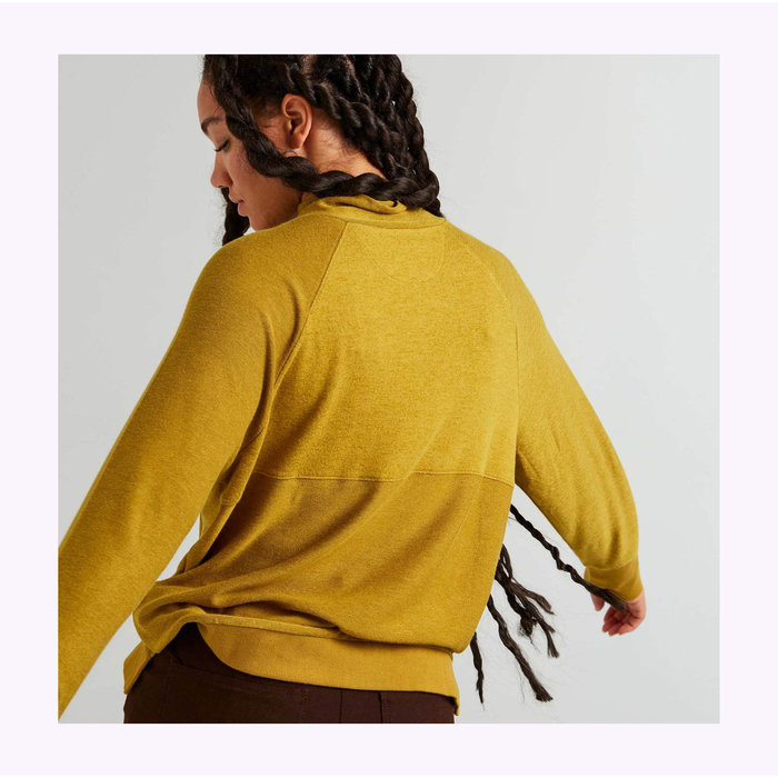 Richer Poorer Long Sleeve Golden Verde Knitted Sweater