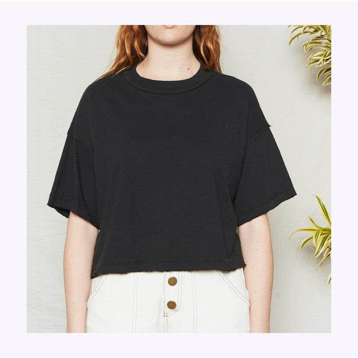 T-Shirt BFF Noir Vintage Back Beat co.