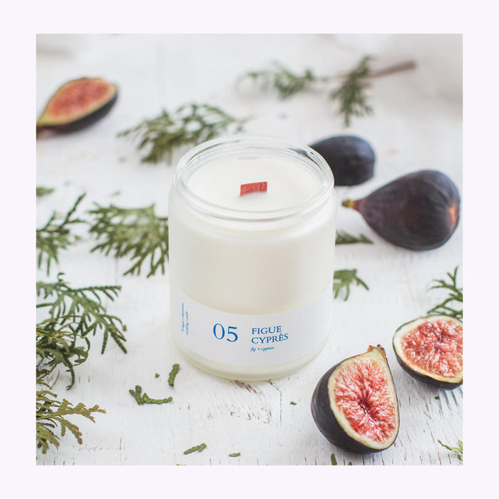 Flambette Flambette 05 Fig + Cypress Sizzling Candle 8oz