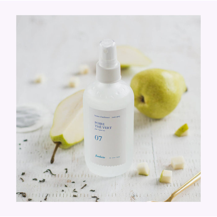 Flambette 07 Pear + Green Tea Room Spray