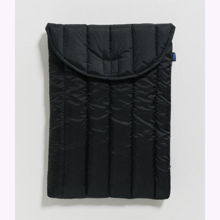 "Baggu pochette Baggu Black Puffy Laptop Sleeve 16"""
