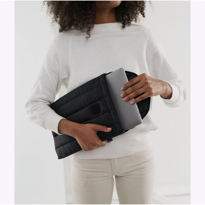 """Baggu Black Puffy Laptop Sleeve 13"""""""