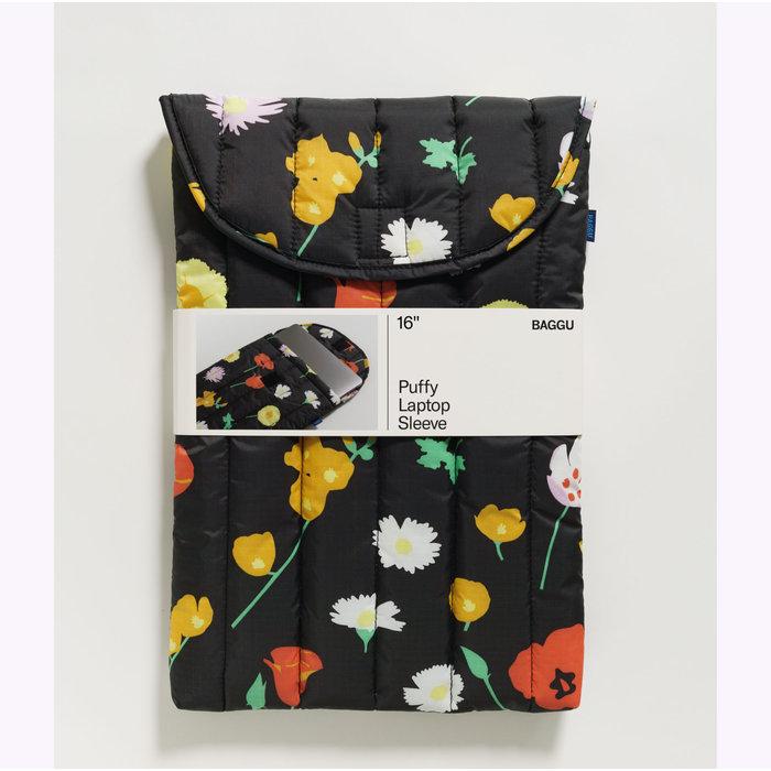 """Baggu Desert Wildflowers Puffy Laptop Sleeve 16"""""""