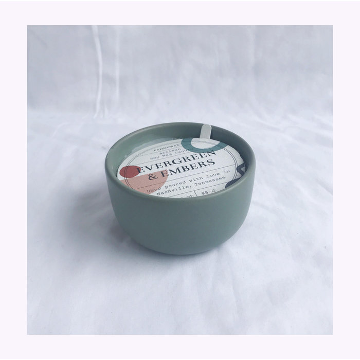 Paddywax Wabi Sabi Evergreen & Embers Candle 3.5oz