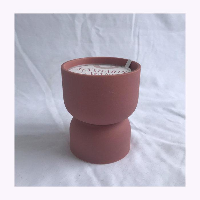 Paddywax Paddywax Mandarin & Mango Form Candle