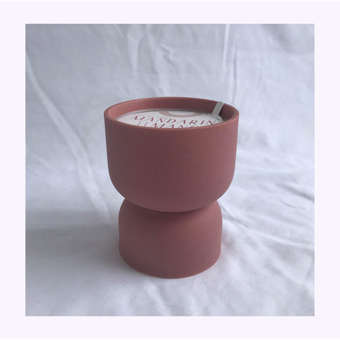 Paddywax Mandarin & Mango Form Candle