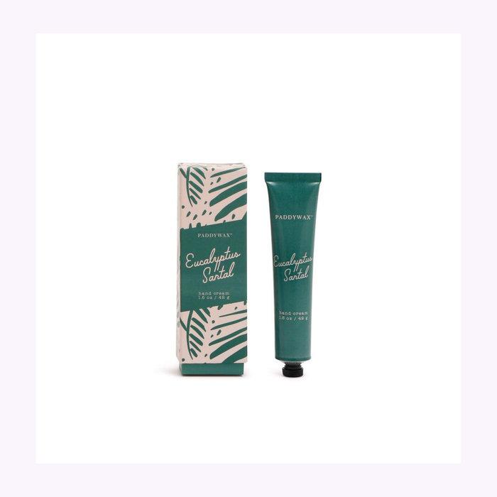Paddywax Paddywax Eucalyptus & Santal Hand Cream