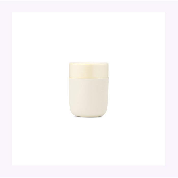 W&P Cream Travel Cup 12oz