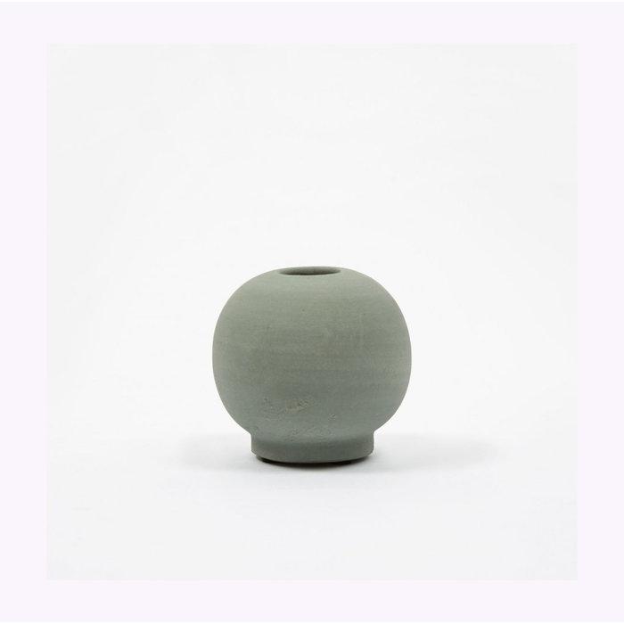 House Doctor Dark Green Mini Bobbles Vase