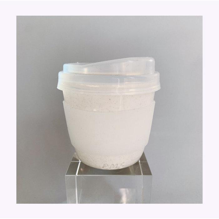 Tasse de transport Pas Mon Style 12oz Sand Clear