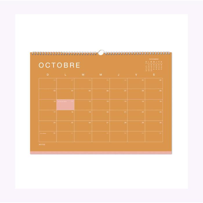 Marlone 2021 Wall Calendar