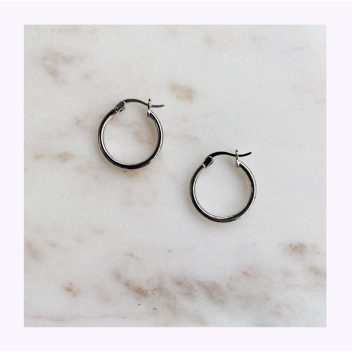Horace Hoopa Earrings