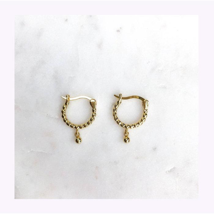 Horace Gold Boulard Earrings