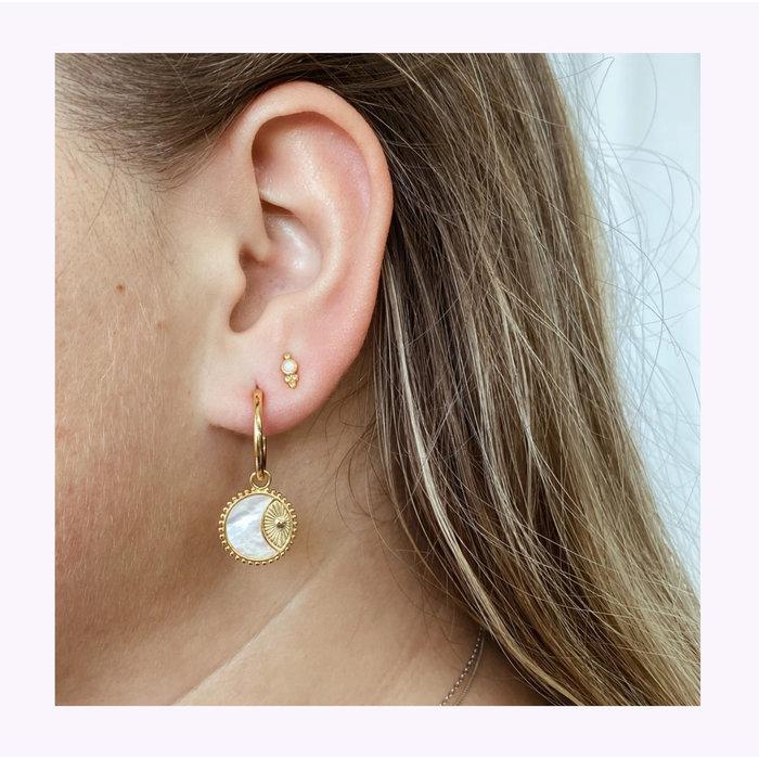 Horace Gold Gemma Earrings