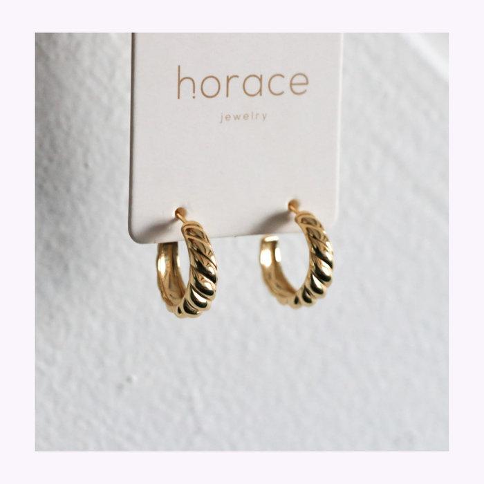Horace jewelry Boucles d'oreilles Cressa Or Horace