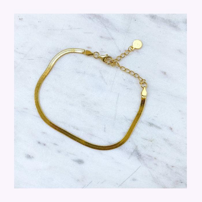 Horace jewelry Horace Gold Snake Bracelet