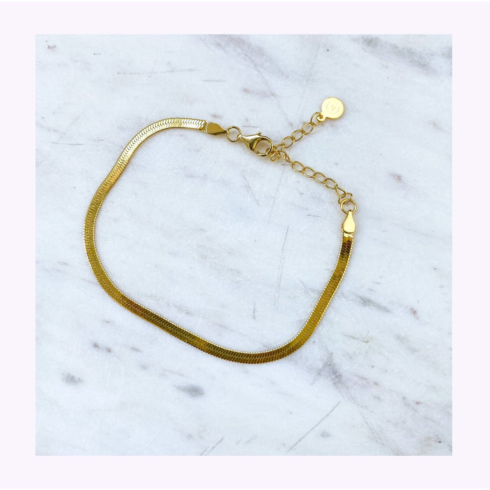 Bracelet Snake Or Horace