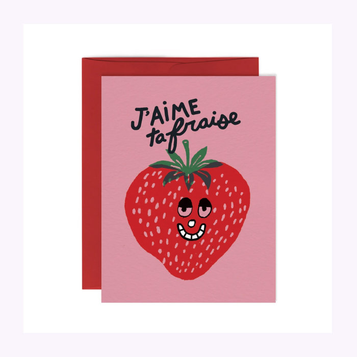 Paperole Paperole Strawberry Card