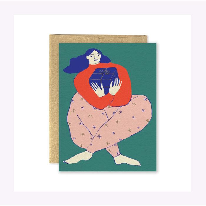 Carte de Noël Julia Paperole