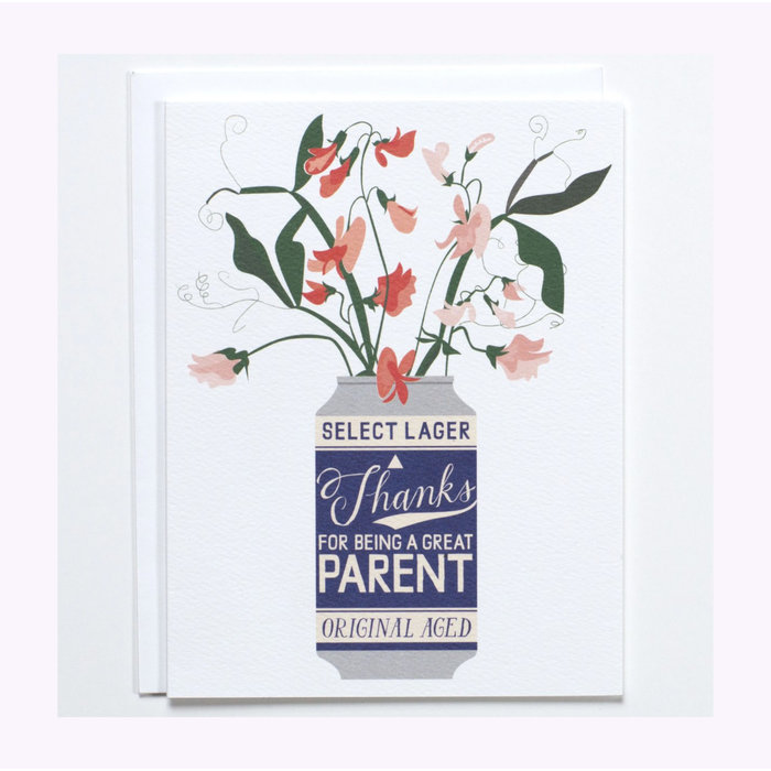 Banquet Atelier Beer Can Parent Card