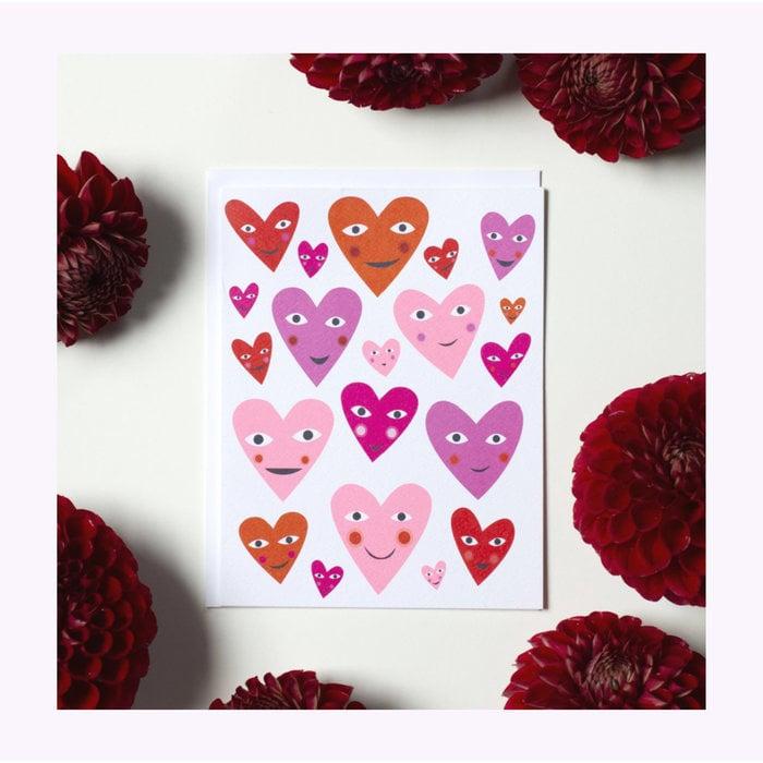 Carte So Many Hearts Banquet Atelier