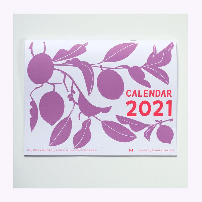 Banquet Atelier Calendrier 2021 Banquet Atelier