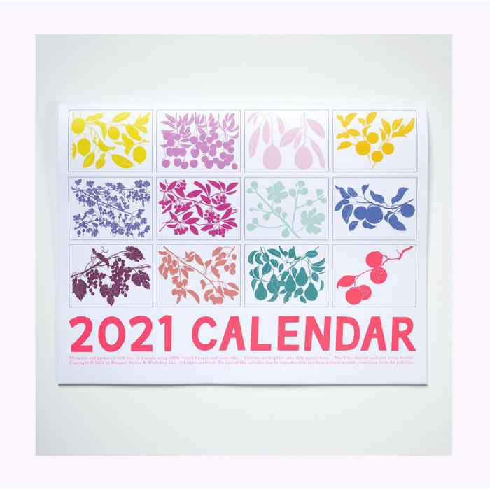 Banquet Atelier 2021 Calendar