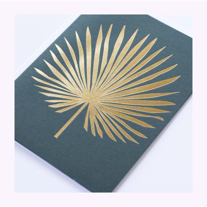 Banquet Atelier Golden Palm Card