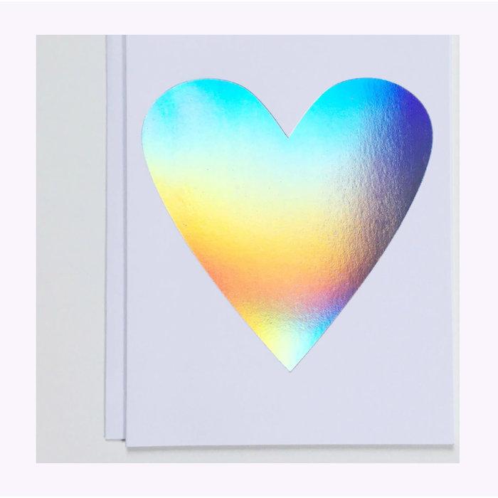 Banquet Atelier Hologram Heart Card