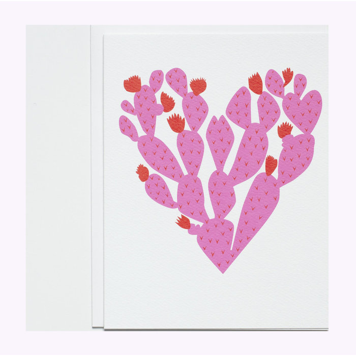 Banquet Atelier Cactus Heart Card