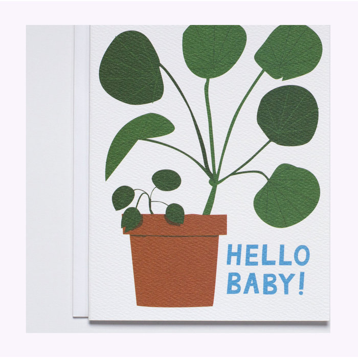 Banquet Atelier Hello Baby Card