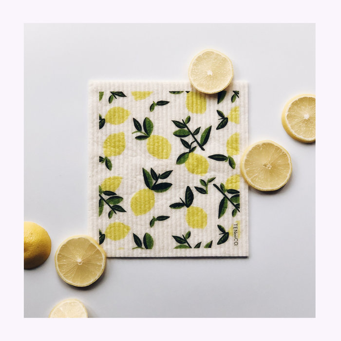 Ten & Co Ten & Co Lemon Sponge Cloth