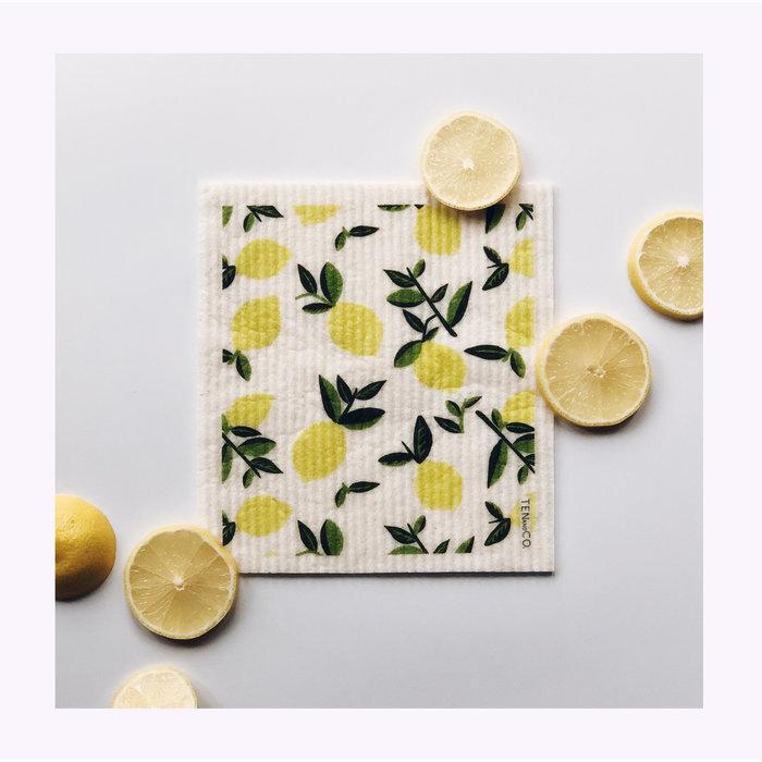 Ten & Co Lemon Sponge Cloth