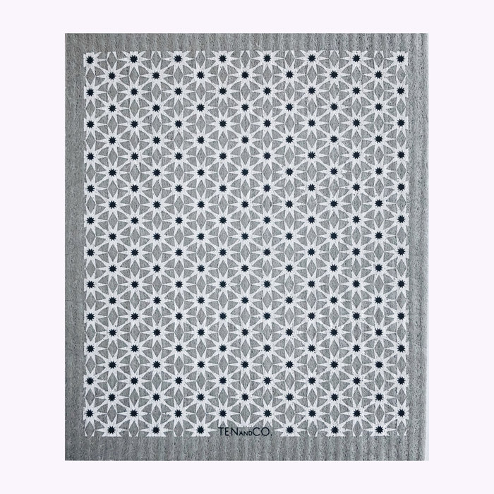 Ten & Co Ten & Co Starbust Neutrals Sponge Cloth