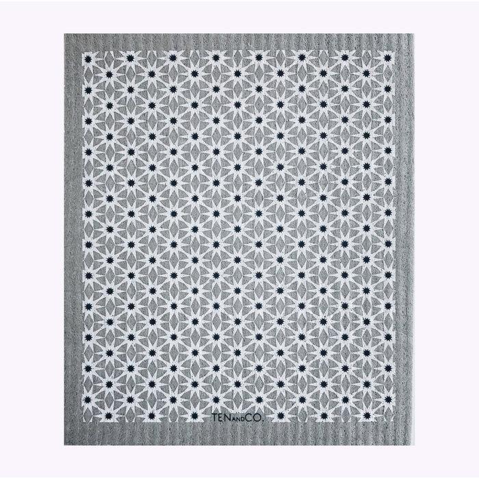 Ten & Co Starbust Neutrals Sponge Cloth