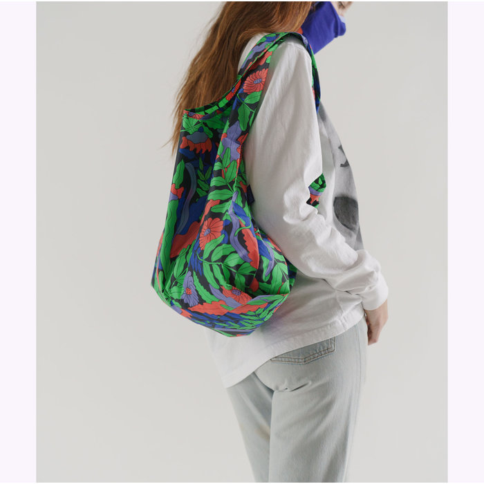 Baggu Midnight Fern Reusable Bag