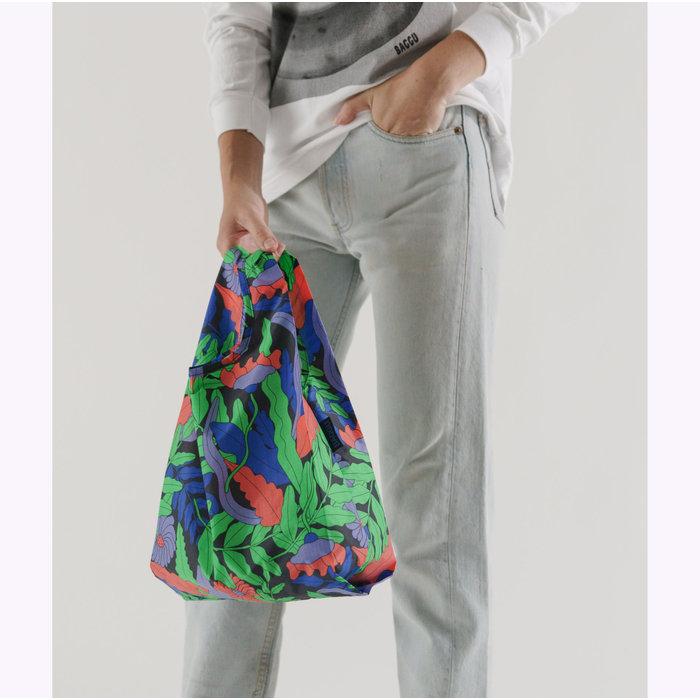 Petit sac réutilisable Baggu Midnight Fern
