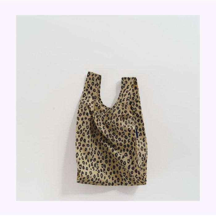 Petit sac réutilisable Baggu Léopard Doré