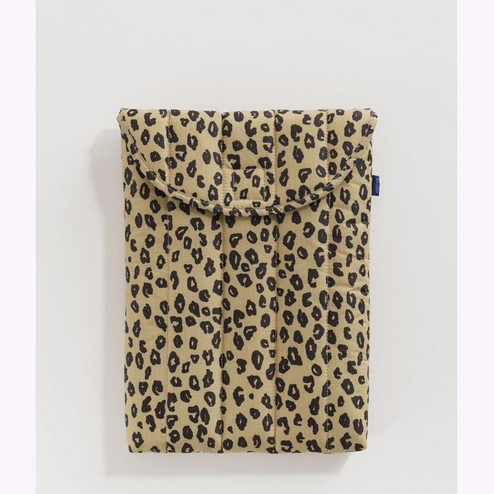 "Baggu pochette Baggu Honey Leopard Puffy Laptop Sleeve 13"""