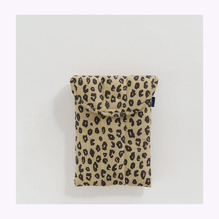 "Baggu pochette Baggu Honey Leopard Puffy Tablet Sleeve 8"""